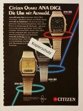Bombardeados/advertisement a5: citizen cuarzo ana-Digi-reloj 06/1981 (200417144)