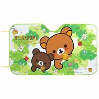 Rilakkuma Car Sunshade Cute Bear Relax Brown Anime Kawaii San-x RK147 Japan.