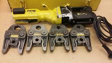 Roller Rems Power-Press E Pressmaschine Presszange 4x V Pressbacken