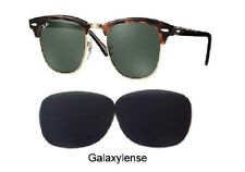 Galaxy Replacement Lenses For Ray Ban RB3016 Clubmaster Black 51mm Sunglasses
