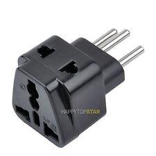 Splitter 2 Universal UK/US/EU/AU Outlet to Switzerland Swiss Power Plug Adapter