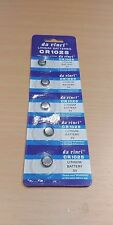 Lot de 5 - 3 V Lithium CR1025 LR CR 1025 Coin Cell batterie pack