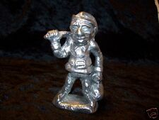 Pewter Elf Gold Miner Gnome Pixie Figurine 3 1/2 inches Tall