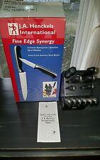 Used JA HENKELS International Fine Edge Synergy 13Piece Knife Set One Owner