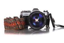 CANON AE1 Film Camera 35mm SLR W/ Vivitar Series 1 Lens 35mm - 85mm f/2.8