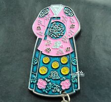 Korean Traditional Clothing Hanbok Korea Travel Souvenir Metal Fridge Magnet
