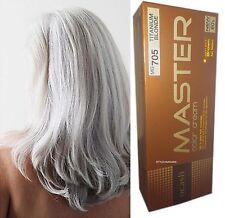PRIME Teinture Coloration Cheveux Permanente Goth Emo Titane Argent Blond MG705