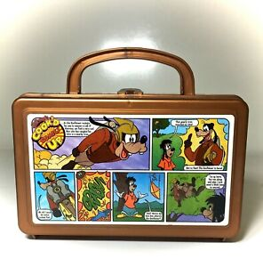 Disney Goofy Max Goof Cook'd Up Comics Goofateer Whirley Lunch Pencil Craft Box