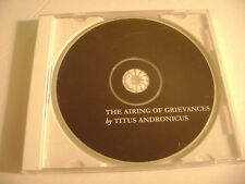 Titus Andronicus - The Airing of Grievances (CD, 2008) XL Recordings