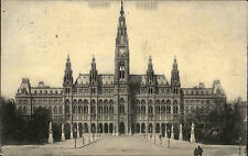 Wien Österreich Austria 1906 Wiener Rathaus Rathausplatz Innere Stadt Neogotik