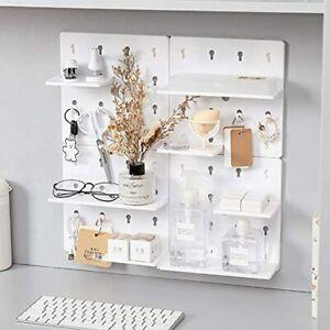 Home Decor Floating Wall Shelves Shelving Storage Shelf Pegboard Display Hooks