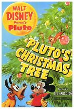 PLUTO'S CHRISTMAS TREE Movie POSTER 27x40 Dessie Flynn Clarence Nash Pinto