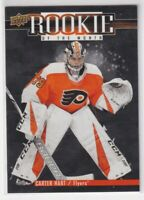 2018-19 Upper deck Game Dated Moments ROOKIE of the MONTH Carter HART R-4