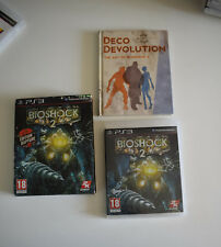 bioshock 2 II edition rapture + livre illustré ps3 ps 3 playstation 3