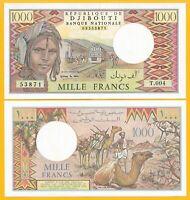 Djibouti 1000 Francs p-37e 1991 UNC Banknote