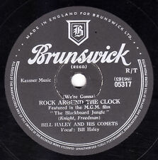 BILL HALEY & COMETS  78 ROCK AROUND THE CLOCK / THIRTEEN WOMEN BRUNS 05317 Vg/V+