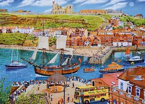 Gibsons - 1000 PIECE JIGSAW PUZZLE - Endeavour Whitby