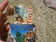 Rare Philadelphia Snow Globe 6 Inches Tall