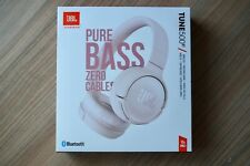 JBL TUNE 500BT Pink Wireless On-ear Headphones - Brand new