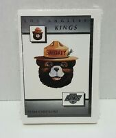 1989-90 LOS ANGELES KINGS SMOKEY THE BEAR TEAM SET w/ GRETZKY TAYLOR ROBITAILLE
