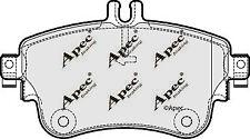 PASTIGLIE FRENO ANTERIORE per MERCEDES-BENZ CLASSE B-PAD1882 ORIGINALE APEC