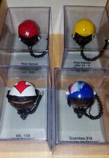 CDC Armour Pilot Helmet Lot of 4 Die-Cast 1:8 Scale! NEW
