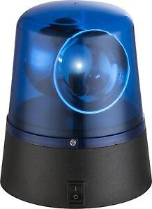 LED Car Police Leuchte Tischleuchte Blaulicht Lampe Beleuchtung Blitz Leuchte