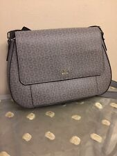 GUESS COLMAR Slate / Grey  MESSENGER CROSSBODY/ SHOULDER BAG- 100% Authentic