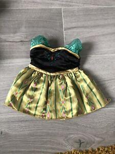 Build A Bear Clothes Disney Frozen Fever Anna Dress