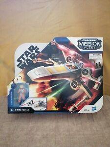 Star Wars Mission Fleet X-WING FIGHTER/ LUKE SKYWALKER gebraucht!