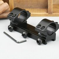 """1"""" 25.4mm Dual Ring Low Profile Rifle Scope Mount for 20mm Picatinny Weaver Rail"""