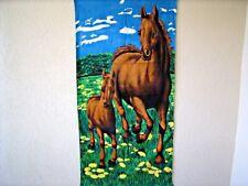 "Badetuch ""Pferde"" (Baumwolle) / Bath Towel ""Horses"" (Cotton)"