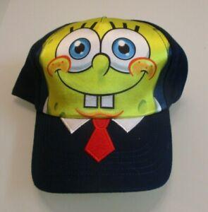NEW Spongebob Squarepants Sporting TIE Toddler Boys Baseball Cap Hat Size 51cm