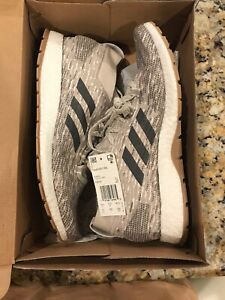 Adidas PureBOOST RBL Size 11 Ultra Running Shoe Clear Brown/Carbon/Tan #F35782
