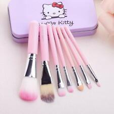 Hello Kitty Complete Makeup Mini Brush Kit Black All Types Of Makeup 7 Pieces
