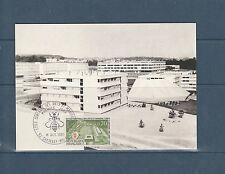 carte   1er jour  école arts et manufactures  Chatenay Malabriy    1969