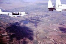 Vintage Slide 1960 'S AIR FORCE JET PLANES FLYNG IN FORMATION AERIAL SHOT