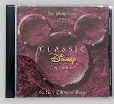 Classic Disney  Vol 1 60 Years of Musical Magic CD