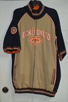 ECKO UNLTD KNIT FULL ZIP SWEATSHIRT ADULT XL RHINO DRESS SHIRT EXCELLENT!