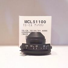Nikon Eclipse E100 / YS100 Microscope Abbe Condenser MCL51100