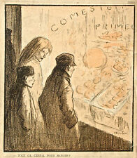 Theophile Alexandre Steinlen Lithograph (I)