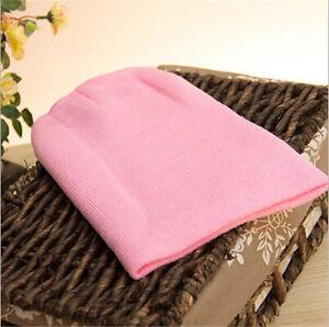 Winter Warm Unisex Wool Hat Men's Women Beanie Knit Ski Cap Hip-Hop Blank Color