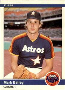 1984 Fleer Update Baseball Base Singles (Pick Your Cards)