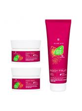 LR ALOE VIA Aloe Vera Figgy Fruit-Set   Body Peeling   Cream Shower   Body Cream
