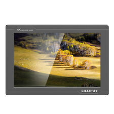 "Lilliput FS7 -7"" 8bit IPS 4K HDMI/SDI Input DSLR Camera Field Monitor Metal"