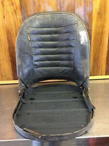 Triumph TR2 TR3 TR3A TR3B • Original Steel Tilting Seat. Used.    T2039