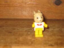 VINTAGE Fabuland LEGO DA COLLEZIONE RABBIT Gioco Figure si siede STAND Ricambio Spa