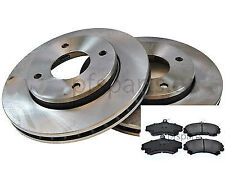 Smart ForFour 2004-2006 Front Brake Disc And Pad Set