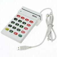 USB Magnetic Stripe Card Reader Encoder Credit Card w/ Numeric Keypad POS