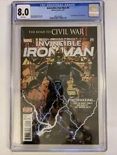 Invincible Iron Man 9 - CGC 8.0 - First Full Riri Williams